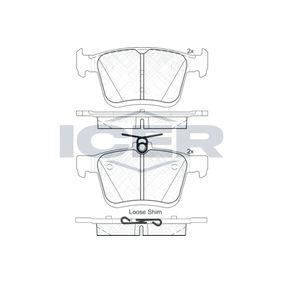 Bremsbelagsatz, Scheibenbremse 182099 Golf Sportsvan (AM1, AN1) 1.6 TDI Bj 2020