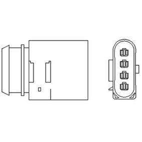 Lambdasonde Kabellänge: 721mm mit OEM-Nummer 06A 906 262 G