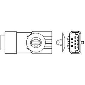 Lambdasonde Kabellänge: 470mm mit OEM-Nummer 7700107433