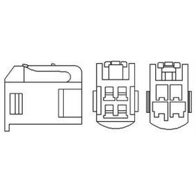 Lambdasonde Kabellänge: 570mm mit OEM-Nummer 89465-02080