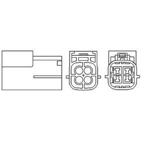 Nissan Almera Tino 1.8 Lambdasonde MAGNETI MARELLI 466016355041 (1.8 Benzin 2003 QG18DE)