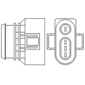 Lambdasonde Kabellänge: 885mm mit OEM-Nummer 030 906 265 AP