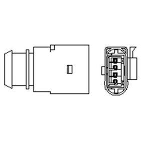 Lambdasonde Kabellänge: 1300mm mit OEM-Nummer 06A 906 262CK