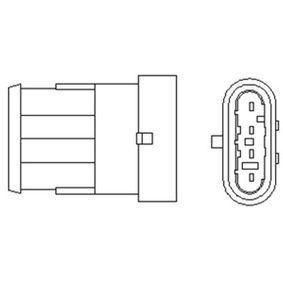 Lambdasonde Kabellänge: 350mm mit OEM-Nummer 46 52 93 85