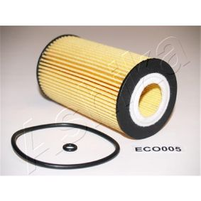 ASHIKA  10-ECO005 Ölfilter Ø: 65mm, Innendurchmesser: 28mm