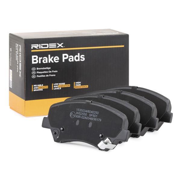Bremseklosser RIDEX 402B0622 fagkunnskap
