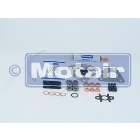 Renault Twingo 2 1.2TCe 100 (CN0P) Montagesatz, Abgasanlage MOTAIR 444007 (1.2 TCe 100 Benzin 2013 D4F 782)