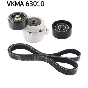 V-Ribbed Belt Set Length: 2268mm, Number of ribs: 7 with OEM Number 38920-RBD-E02