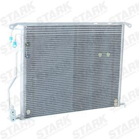 Kondensator, Klimaanlage Kältemittel: R 134a mit OEM-Nummer 220 500 07 54