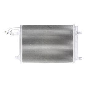 Kondensator, Klimaanlage Kältemittel: R 134a mit OEM-Nummer 1K0 820 411G