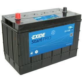 EXIDE Nutzfahrzeugbatterien B0, B00 , 110 Ah , 12 V , 950 A , Bleiakkumulator
