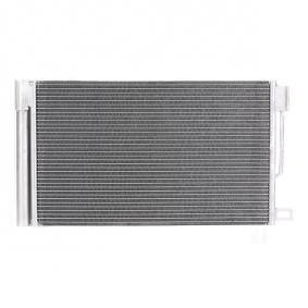 Kondensator, Klimaanlage Netzmaße: 600 x 355 x 12 mm mit OEM-Nummer 39035152