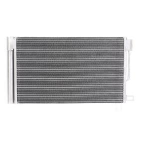 Kondensator, Klimaanlage Netzmaße: 600 x 355 x 12 mm mit OEM-Nummer 51931470