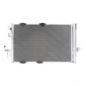 Kondensator, Klimaanlage Netzmaße: 593 x 357 x 16 mm mit OEM-Nummer 24431901