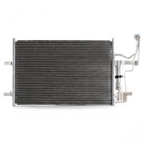 Condensador MAZDA 3 (BK) 1.4 de Año 10.2003 84 CV: Condensador, aire acondicionado (448C0085) para de RIDEX