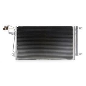 Kondensator, Klimaanlage Kältemittel: R 134a mit OEM-Nummer 6R0820411J