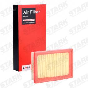 Luftfilter Länge: 179mm, Breite: 117mm, Höhe: 38mm, Länge: 179mm mit OEM-Nummer 17801 21060