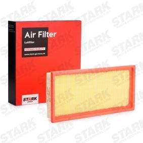 Luftfilter Länge: 320mm, Breite: 148mm, Höhe: 42mm mit OEM-Nummer F43X 9601 BB