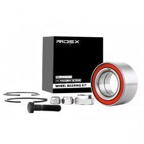 RIDEX Radlagersatz 654W0101 für AUDI 90 (89, 89Q, 8A, B3) 2.2 E quattro ab Baujahr 04.1987, 136 PS