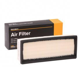 Air Filter Length: 270mm, Width: 108mm, Height: 57mm, Length: 270mm with OEM Number 1654 6BN 701