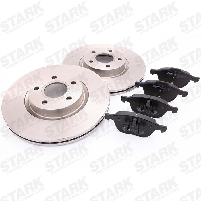 STARK  SKBK-1090061 Bremsensatz, Scheibenbremse Bremsscheibendicke: 18,1, 25mm