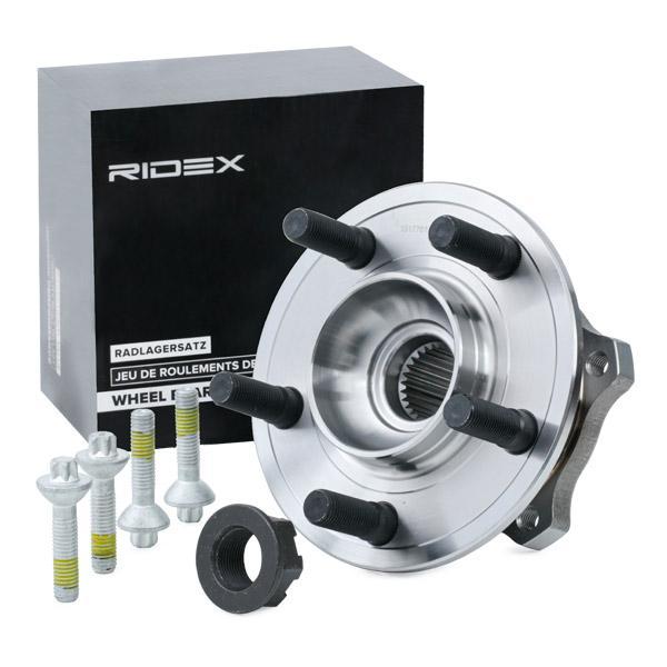 Wiellagerset RIDEX 654W0604 expert kennis