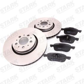 Brake Set, disc brakes Brake Disc Thickness: 28mm with OEM Number 30776712
