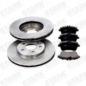Brake Set, disc brakes Brake Disc Thickness: 25mm with OEM Number A169 420 19 20