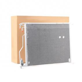 Kondensator, Klimaanlage Netzmaße: 620 X 478 X 16 mit OEM-Nummer A220 500 02 54