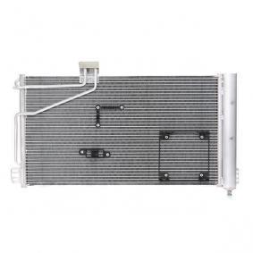 Kondensator, Klimaanlage Kältemittel: R 134a mit OEM-Nummer A 2035001354