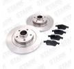 STARK Hinterachse, Voll, mit ABS-Sensorring, mit Radlagersatz SKBK1090109