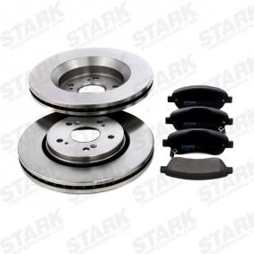 Brake Set, disc brakes Brake Disc Thickness: 28mm with OEM Number 45251T1EG01