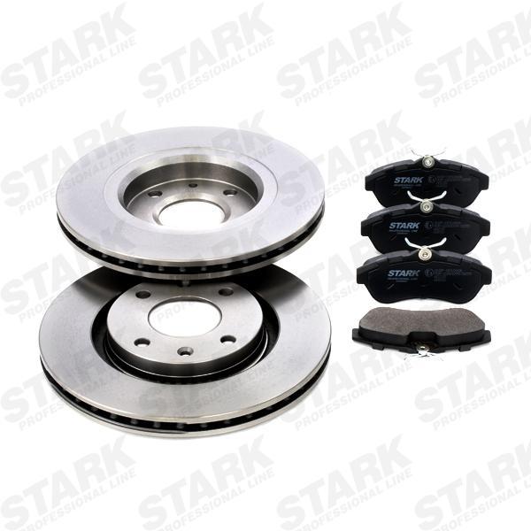 STARK  SKBK-1090190 Bremsensatz, Scheibenbremse Bremsscheibendicke: 22mm