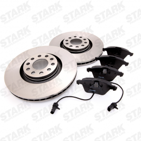 STARK  SKBK-1090192 Bremsensatz, Scheibenbremse Bremsscheibendicke: 30mm