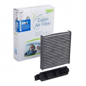 Filter, interior air Length: 225mm, Width: 188mm, Height: 43mm with OEM Number 77 11 426 872