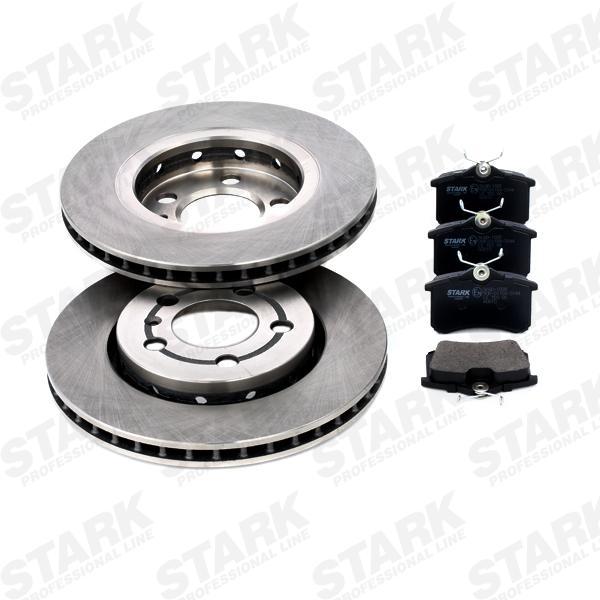 STARK  SKBK-1090233 Bremsensatz, Scheibenbremse Bremsscheibendicke: 22mm