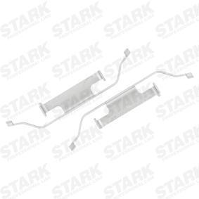 Accesorios y Piezas BMW 3 Coupé (E46) 318 Ci de Año 03.2005 150 CV: Kit de accesorios, pastillas de frenos (SKAK-1120007) para de STARK