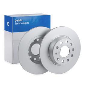 Bremsscheibe Bremsscheibendicke: 10mm, Ø: 272mm mit OEM-Nummer 8V0698601