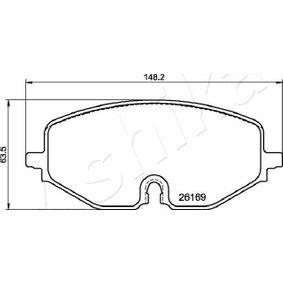 Bremsscheibe Bremsscheibendicke: 26mm, Ø: 276,3mm mit OEM-Nummer 1954433