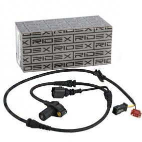ABS Sensor VW PASSAT Variant (3B6) 1.9 TDI 130 PS ab 11.2000 RIDEX Sensor, Raddrehzahl (412W0026) für
