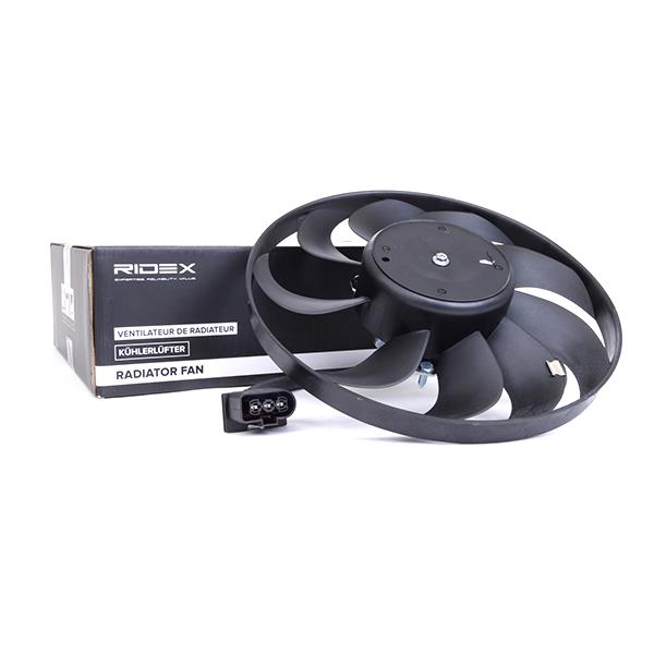 RIDEX Lüfter, Motorkühlung rechts Allrad für Fahrzeuge mit ...