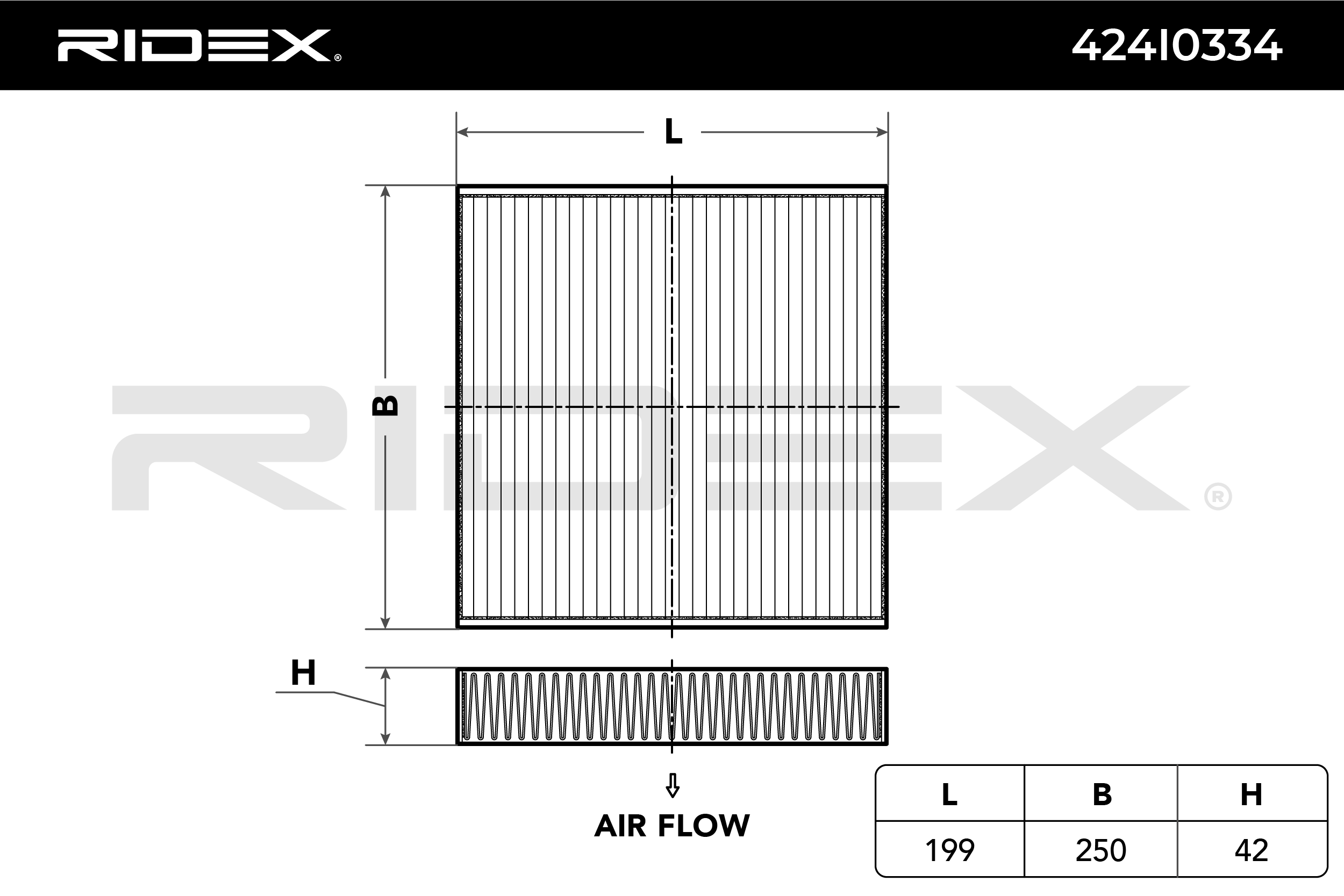 Cabin Air Filter RIDEX 424I0334 expert knowledge