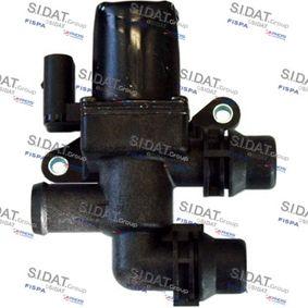 Passat B6 Variant 2.0TDI Kühlmittelregelventil SIDAT 83.879 (2.0TDI Diesel 2010 CBDC)