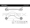 RIDEX Suspension arm MAZDA Rear Axle left and right, Upper, Sheet Steel, Control Arm