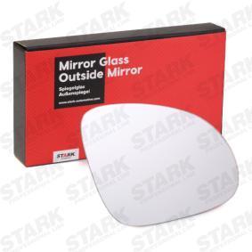 Spiegelglas, Außenspiegel mit OEM-Nummer 1K0857522