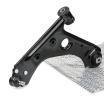 RIDEX unten, Vorderachse links, Stahlblech, Querlenker, mit Gummilager, mit Trag-/Führungsgelenk 273C0166