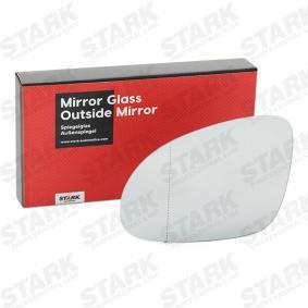 Spiegelglas, Außenspiegel mit OEM-Nummer 3C0-857-521