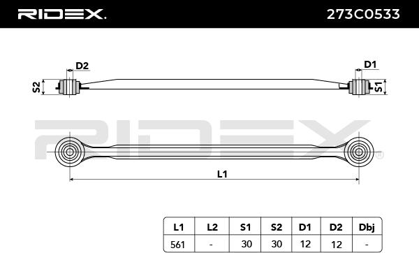 273C0533 RIDEX mit 23% Rabatt!