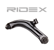 RIDEX Ψαλίδια αυτοκινήτου NISSAN Μπροστινός άξονας αριστερά, Βραχίονας ελέγχου