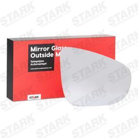 Spiegelglas, Außenspiegel mit OEM-Nummer 5K0 857 522